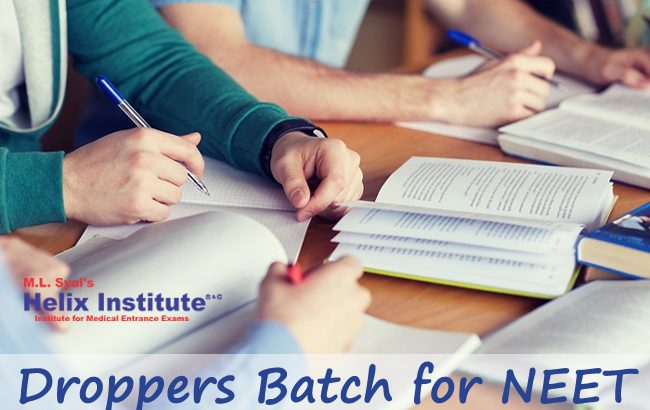 Droppers batch for NEET