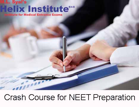 Crash course for NEET Preparation