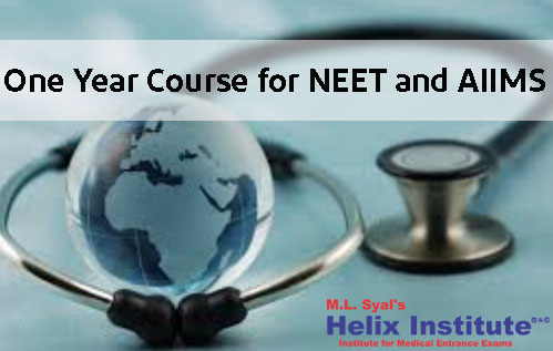 One Year Course for NEET and AIIMS