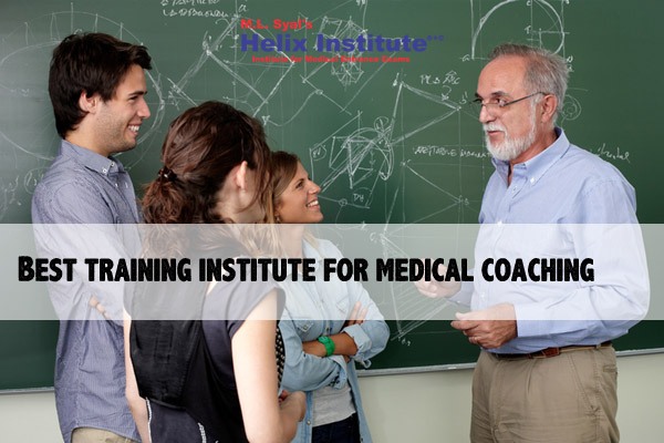 Best training institute for medical coaching