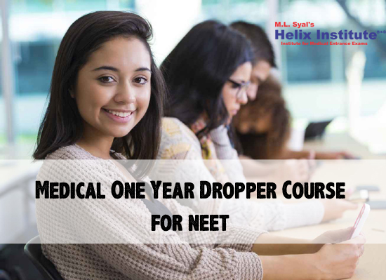 Medical One Year Dropper Course for neet