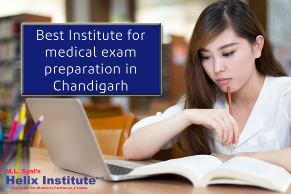 Best Institute for medical exam preparation Chandigarh